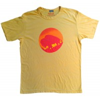 Men's Bison Sun Gold T-Shirt