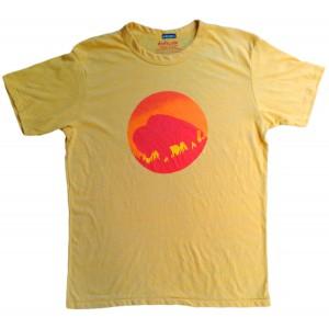Men's Bison Sun Gold T-Shirt