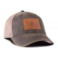 California Bear Outback Trucker Hat