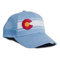 Baby Blue Colorado Hat