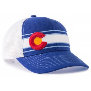The Colorado Flag Trucker Hat