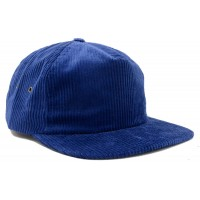 Wide Wale Corduroy Hat Royal