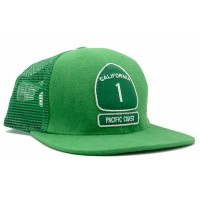 California Pacific Coast Highway 1 USA/Organic Mesh Hat