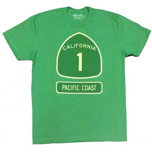 California 1 Pacific Coast Highway T-Shirt