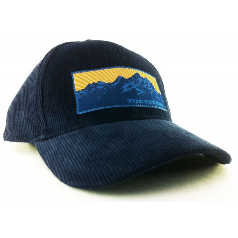 5acf40f2e3a The Teton Range Baseball Cap in Navy Blue Corduroy