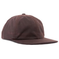 Rainy Day Unstructured Wax Canvas Cap